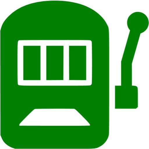 Green Slot Machine Icon