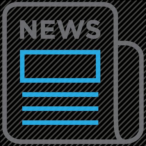 Article, Headline, Media, News, Newspaper, Press, Release Icon