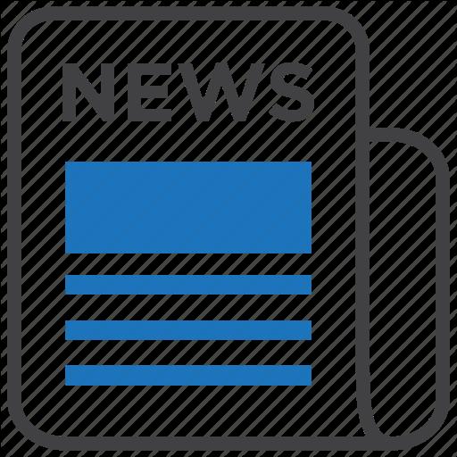 Article, Headlines, Media, News, Newspaper, Press, Release Icon