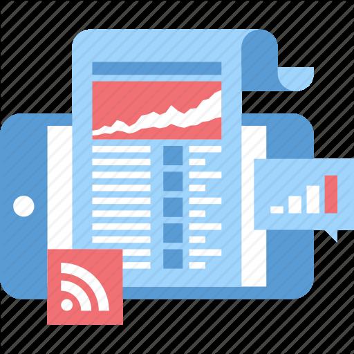 Media, Mobile, News, Newspaper, Phone, Press, Release Icon