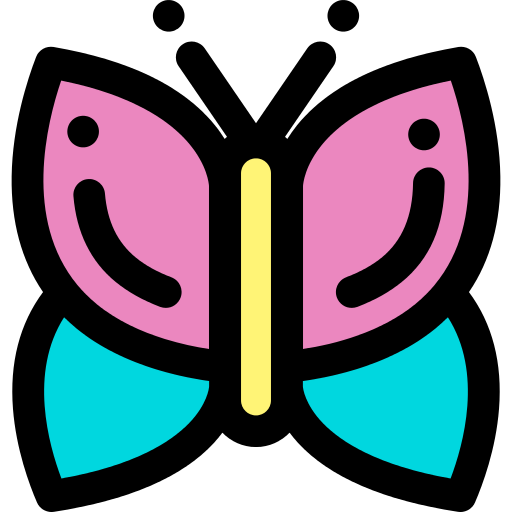 Butterfly Pretty Png Icon