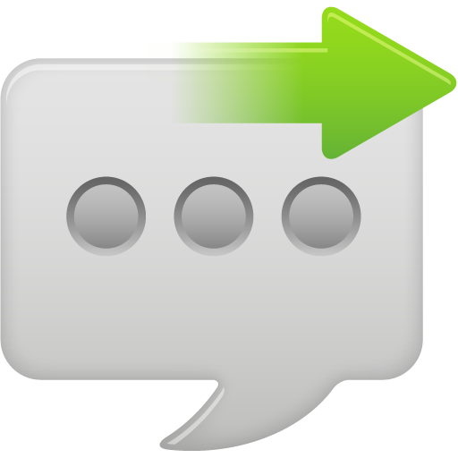 Message Bubble Send Icon Pretty Office Iconset Custom Icon