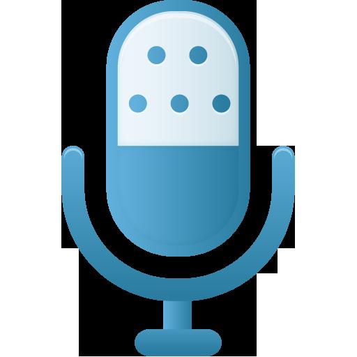 Microphone Icon Pretty Office Custom Icon Design