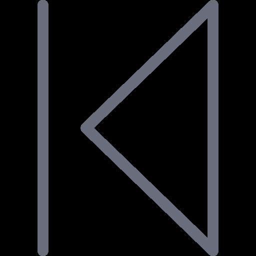 Previous Outline Icon