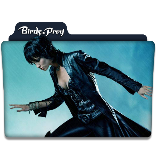 Birds Of Prey Tv Series Folder Icon