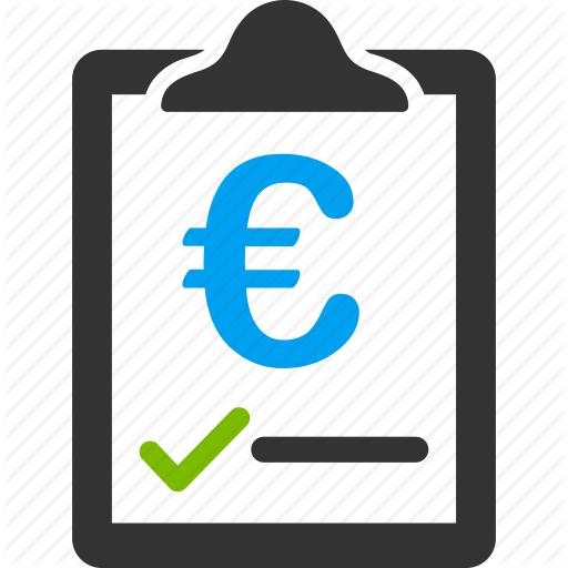 Agreement, Commercial, Contract, Euro, European, Money, Price Icon
