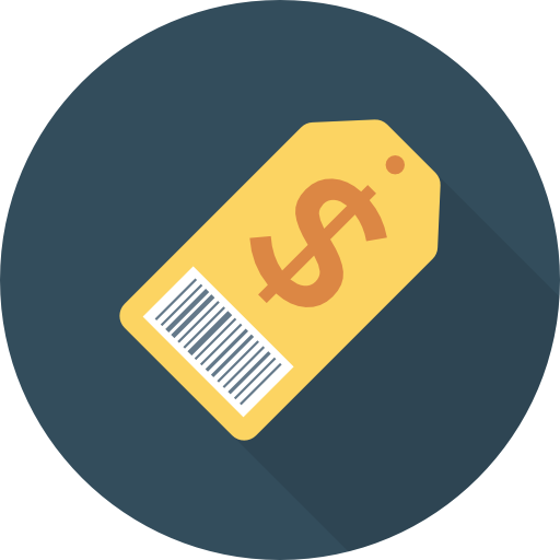 Price Tag Icon Banking And Finance Dinosoftlabs