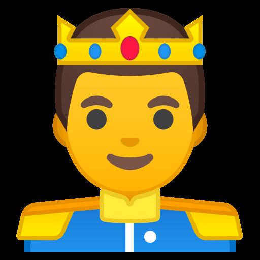 Prince Icon Free Of Noto Emoji People Profession
