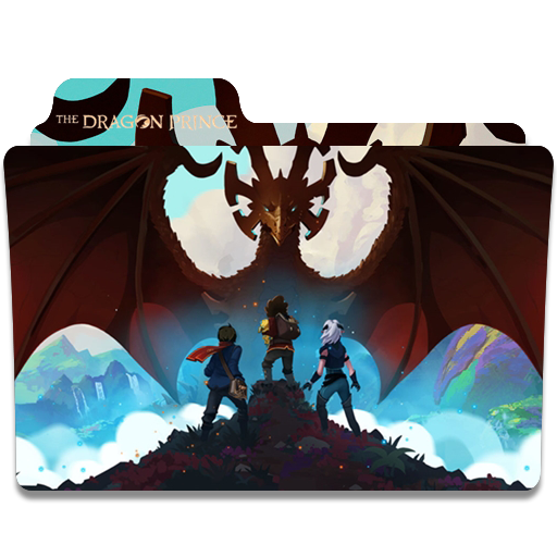 The Dragon Prince Season Folder Icon
