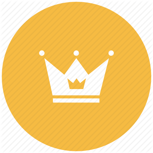 Crown, King, Kingdom, Prince, Princess Crown, Queen Icon