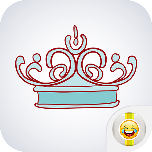 Fairy Princess Crown Stickers