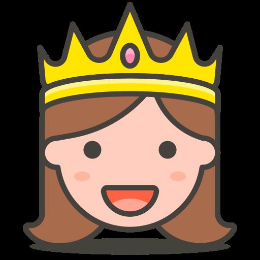 Princess Icon Free Of Free Vector Emoji