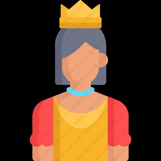 Download Princess,fairy,tale,legend,fantasy,user,avatar Icon