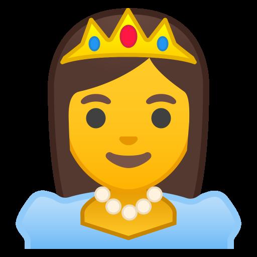 Princess Icon Noto Emoji People Profession Iconset Google