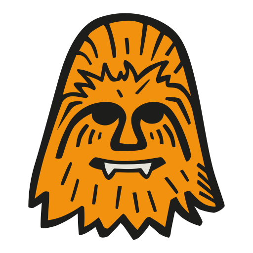 Chewbacca Icon Free Space Iconset Good Stuff No Nonsense