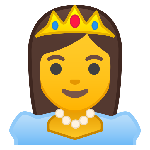 Princess Icon Free Of Noto Emoji People Profession