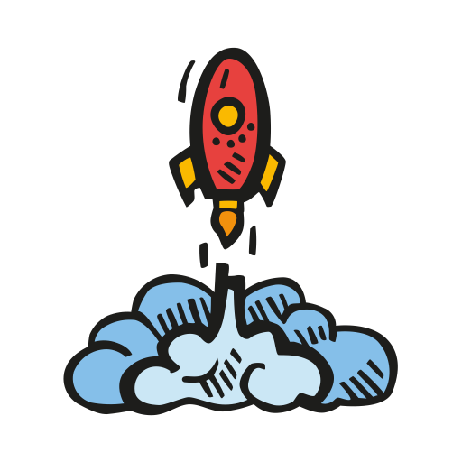Rocket Launch Icon Free Space Iconset Good Stuff No Nonsense