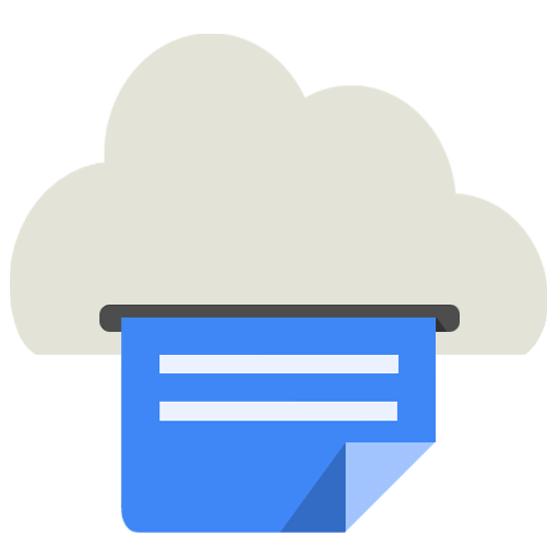 Cloud Print Icon Android Kitkat Png Image