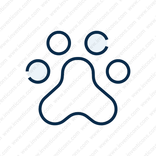 Download Paw,print Icon Inventicons