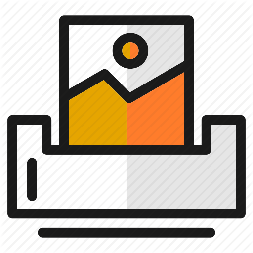 Computer, Designs, Image, Picture, Print, Screen, Tools Icon