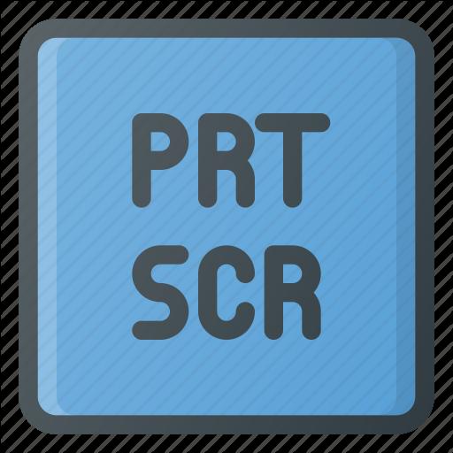Keyboard, Printscreen, Type Icon