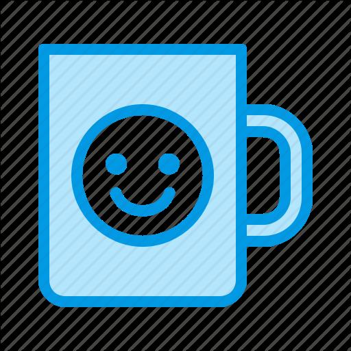 Cup, Mug, Printing Icon
