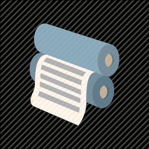 Equipment, Ink, Machine, Press, Print, Printer, Roller Icon