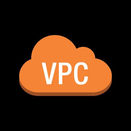 Copy, Service, Non, Specific, Private, Cloud, Virtual Icon