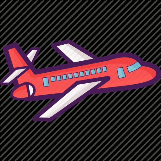 Aeroplane, Aircraft, Airplane, Flight, Jet, Plane, Travel Icon