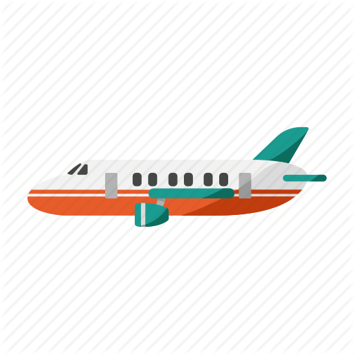 Aircraft, Flight, Private Jet, Transportation, Travel Icon