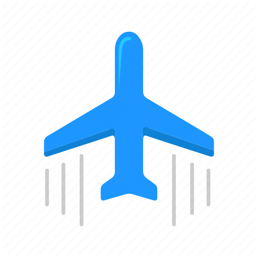 Airplane, Jet, Private Jet, Transportation Icon