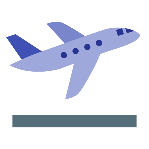 Airplane Vacation, Airplane, Aviation Icon With Png And Vector