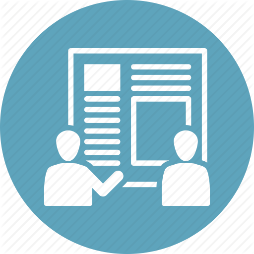Meeting, Presentation, Product Design, Teamwork Icon