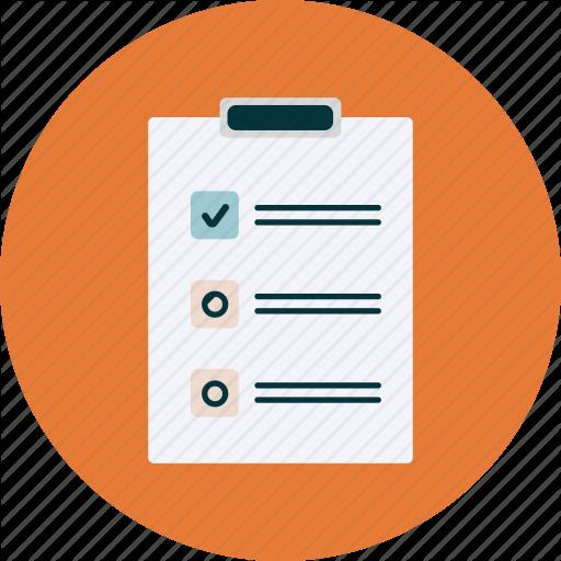 Checkbox, Checklist, File, Planning Icon