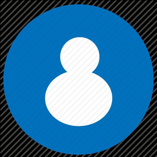 Account Icon Blue Free Icons