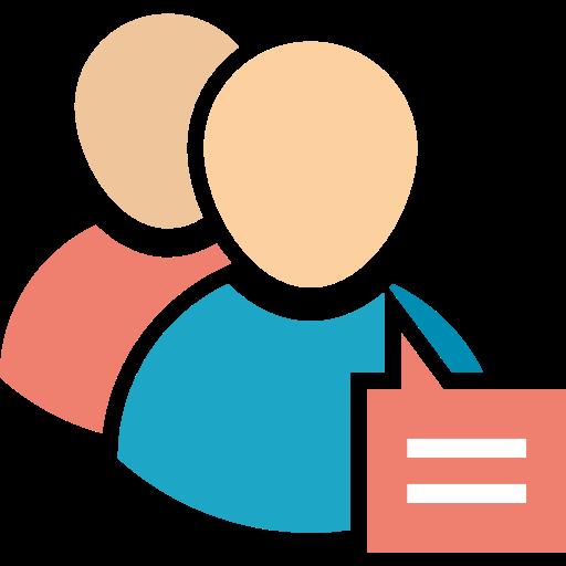 Conversation, Edit, Profile Icon