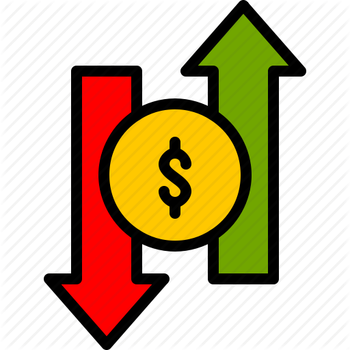 Cash, Currency, Finance, Loss, Money, Profit, Value Icon
