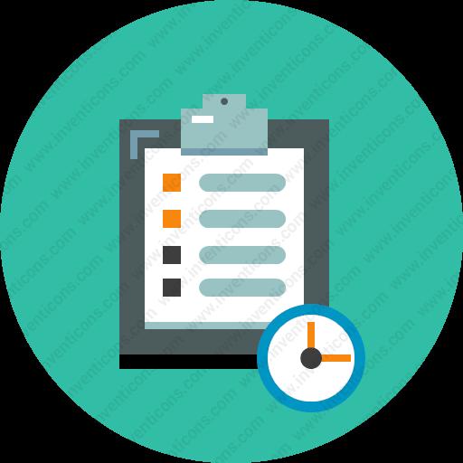 Download Schedule,plan,timetable,program Icon Inventicons