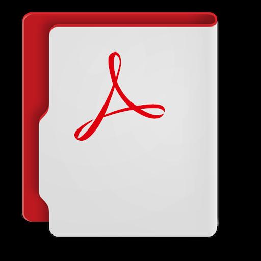 Adobe Acrobat Cc Icon Aquave Adobe Cc Iconset Thebassment