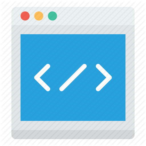 Pictures Of Programming Code Icon