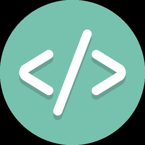 Coding, Programming, Tags Icon
