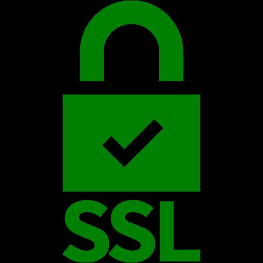 Green Ssl Badge Icon