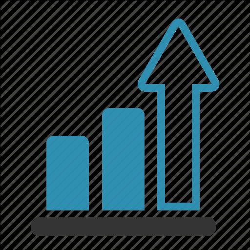 Growth Arrow Icon Arrow Chart Growth Progress