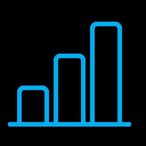 Infographic, Progress, Graph, Schedule, Columns, Chart Icon