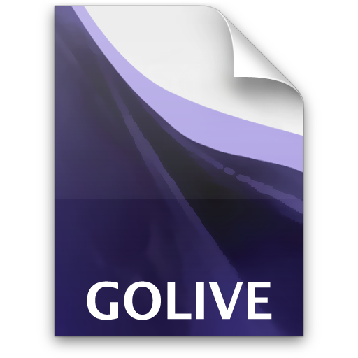 Adobe Golive Project Icon