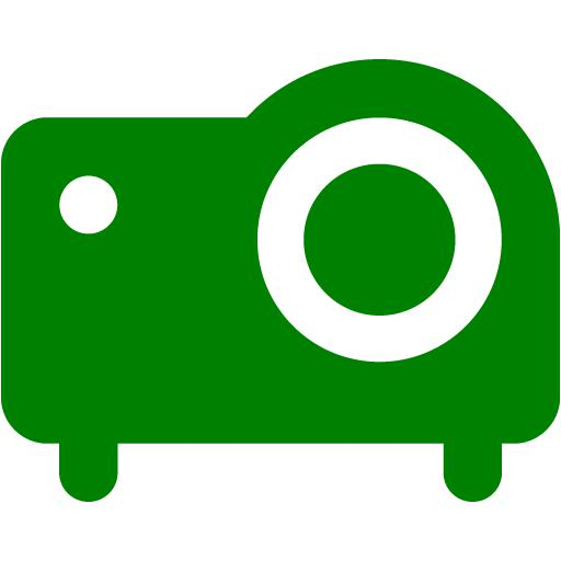 Green Projector Icon