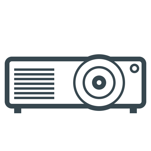 Device, Film, Hardware, Projection, Projection Device, Projector Icon