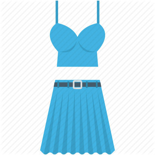 Clothes, Party Dress, Prom Dress, Skirt, Woman Dress Icon