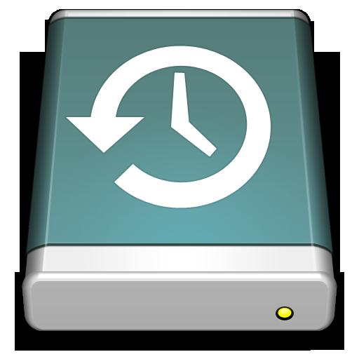 Timemachine Disk Icon