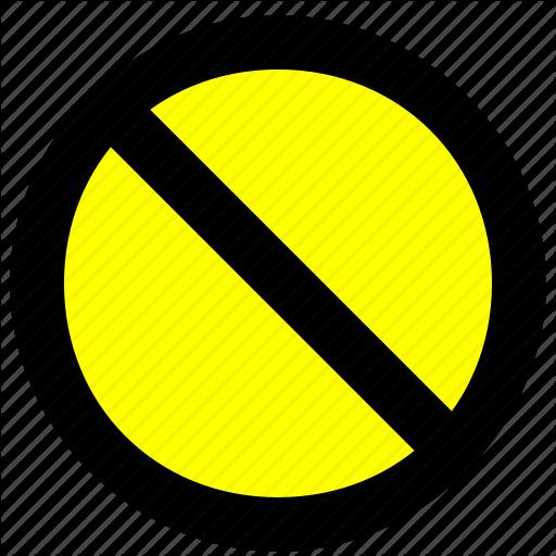 Block, No, Prevent, Prompt, Stop Icon